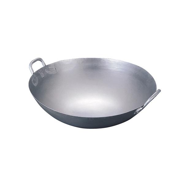 チターナ 中華鍋 (チタン製) 42cm 【メイチョー】