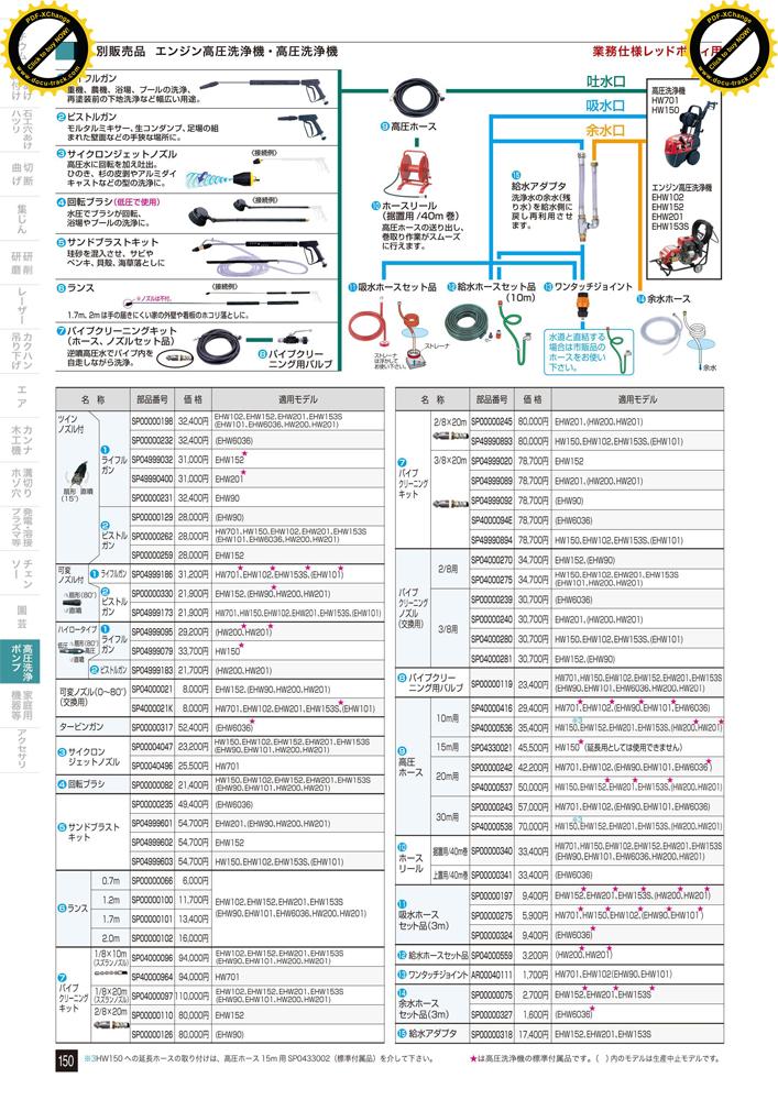 【 マキタ 電動工具 部品 パーツ オプション 】エンジン 高圧洗浄機用 パイプクリーニングキット【SP49990894】【ホース、ノズルセット 【 DIY 作業用 工具 プロ 愛用 】 【 電動工具 関連品 】 メイチョー