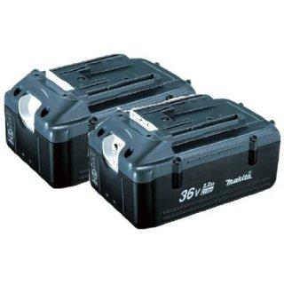 マキタリチウムイオンバッテリー36V(2.2Ah)残容量表示付BL3622A [A-52261]×2個セット メイチョー