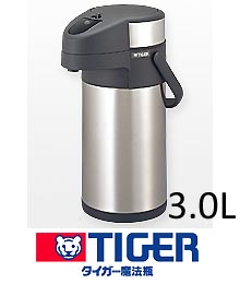 【 送料無料 】 タイガー ステンレスエアーポット サハラビッグ 3.0L 【20P05Dec15】 メイチョー