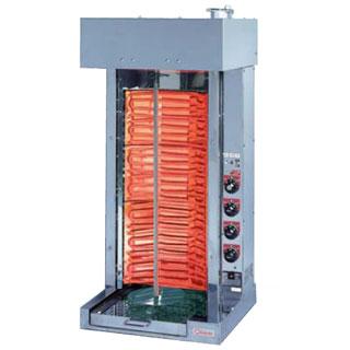 押切電機 シェラスコ焼器(回転式焼肉器) KMT-10 505×480×1070 メイチョー【 メーカー直送/後払い決済不可 】