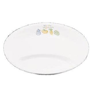 【まとめ買い10個セット品】キッズメイト ベジタブル 仕切皿 25206-VT