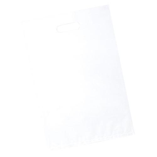【まとめ買い10個セット品】 ポリ袋ソフト型 白&透明 白 50×60 500枚【店舗什器 小物 ディスプレー ギフト ラッピング 包装紙 袋 消耗品 店舗備品】
