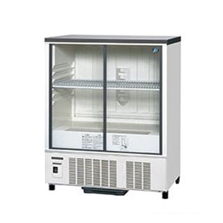 ホシザキ 冷蔵ショーケース SSB-85CL2 幅850×奥行550×高さ1080(mm) 218リットル【 メーカー直送/後払い決済不可 】 【メイチョー】