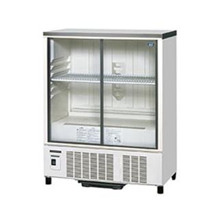 ホシザキ 冷蔵ショーケース SSB-85CTL2 幅850×奥行450×高さ1080(mm) 172リットル【 メーカー直送/後払い決済不可 】 【メイチョー】