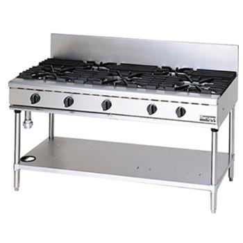 マルゼン NEWパワークックガステーブル RGT-1575C 1500×750×800 メイチョー【 メーカー直送/後払い決済不可 】