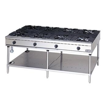 マルゼン NEWパワークックガステーブル RGT-1812C 1800×1200×800 メイチョー【 メーカー直送/後払い決済不可 】