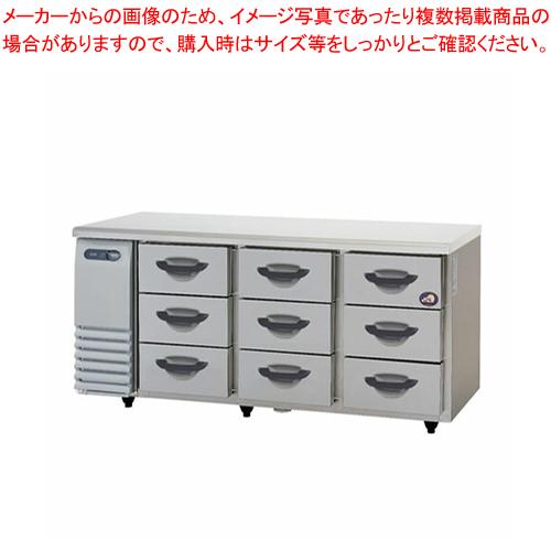 パナソニック ドロワー 冷蔵庫 SUR-DK1661-3 1635×600×800mm【 横型冷蔵庫 コールドテーブル 業務用冷蔵庫 ショーケース 業務用 冷蔵庫 】【 メーカー直送/後払い決済不可 】メイチョー【PFS SALE】