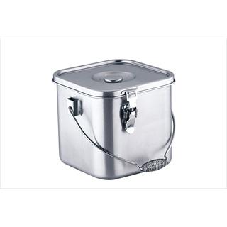 KO 19-0 角型 給食缶 24cm 【 業務用 】 【 送料無料 】 【20P05Dec15】 メイチョー