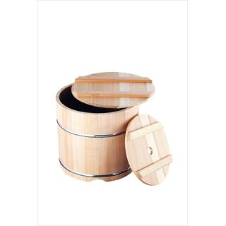 【 漬物容器 】杉製 漬物樽[ステンレスタガ] 9L 【 業務用 】 【20P05Dec15】 メイチョー