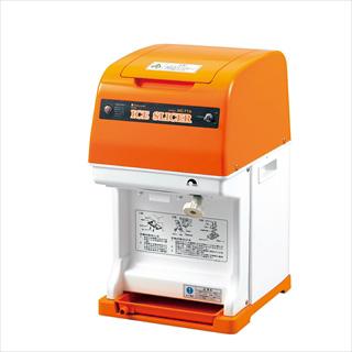 『 かき氷用品 キューブアイス用アイススライサー(氷削り機) 』初雪 電動式キューブアイススライサーHC-77B 【メイチョー】