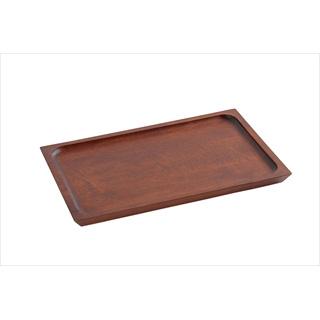 【まとめ買い10個セット品】『 サービストレー 木製トレー 』木製カフェトレイ ノーマル ブラウン