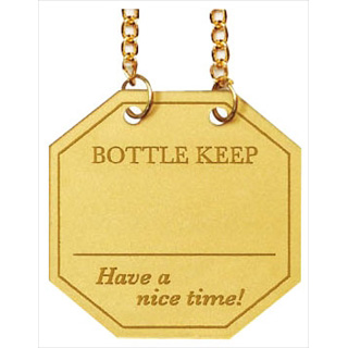 【まとめ買い10個セット品】シンビ ボトル札 BM-55[10枚入] ゴールド 【 調理器具 厨房用品 厨房機器 】 【5-1544-0901】 メイチョー