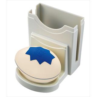 コココール 送信機 タマゴ型ナフキン付 [防沫構造] CC-E ライトイエロー/ブルー 【 業務用 】 【20P05Dec15】 メイチョー
