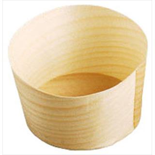 【まとめ買い10個セット品】経木容器 丸型 (100枚入)  23912中 メイチョー