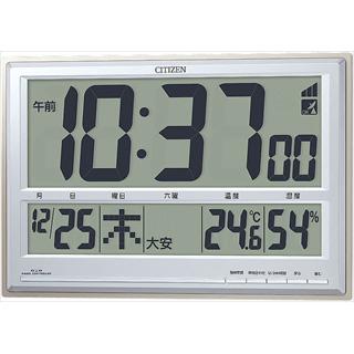 シチズン 電波時計 パルデジットペール 【 業務用 】 【 送料無料 】 メイチョー