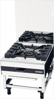 ガス 台付コンロスープ用 OZ50-60LD LPガス  メイチョー