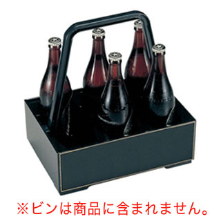 【まとめ買い10個セット品】ABS ファミリーボックス 81011198 黒 【 業務用 】【 ビール運び 】 メイチョー