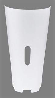 『 ドリンクディスペンサー ジュース ディスペンサー 』フレリックEB-706K用フロントカバー 無地 3ZU030