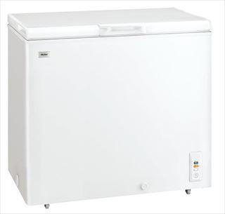 ハイアール チェスト式冷凍庫(直冷式) JF-NC205F(W)