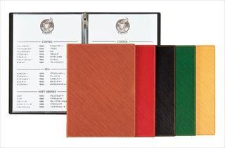 【まとめ買い10個セット品】シンビ メニューブック GL-102 黒【5-1654-0203】 メイチョー