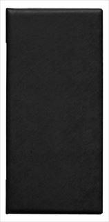 【まとめ買い10個セット品】シンビ メニューブック MU-203 黒【5-1654-0801】 メイチョー