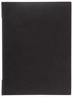 【まとめ買い10個セット品】シンビ メニューブック EPU-1 ブラック 【5-1654-0901】 メイチョー