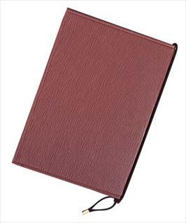 【まとめ買い10個セット品】シンビ メニューブック MS-102 (新タイプ) ブラウン メイチョー