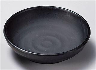 マイン メラミンウェア 黒 豆小皿 M11-354  メイチョー
