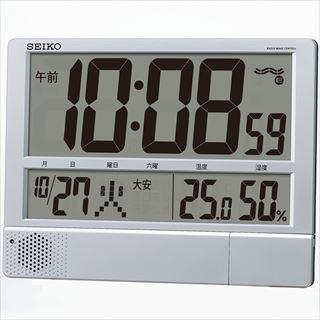セイコー 電波プログラム付掛置兼用時計 SQ434S メイチョー