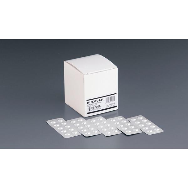 ハンナ DPD遊離塩素測定用 錠剤試薬 HI93701-FJ 【メイチョー】