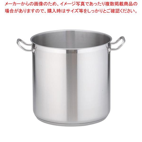 遠藤商事 / TKG PRO(プロ)寸胴鍋(蓋無) 30cm【 寸胴鍋 】【メイチョー】
