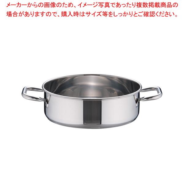 SAパワー・デンジ 外輪鍋(蓋無) 27cm【メイチョー】<br>【 外輪鍋 】