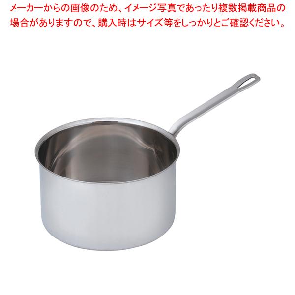 SAパワー・デンジ シチューパン(蓋無) 24cm【メイチョー】<br>【 シチューパン 】