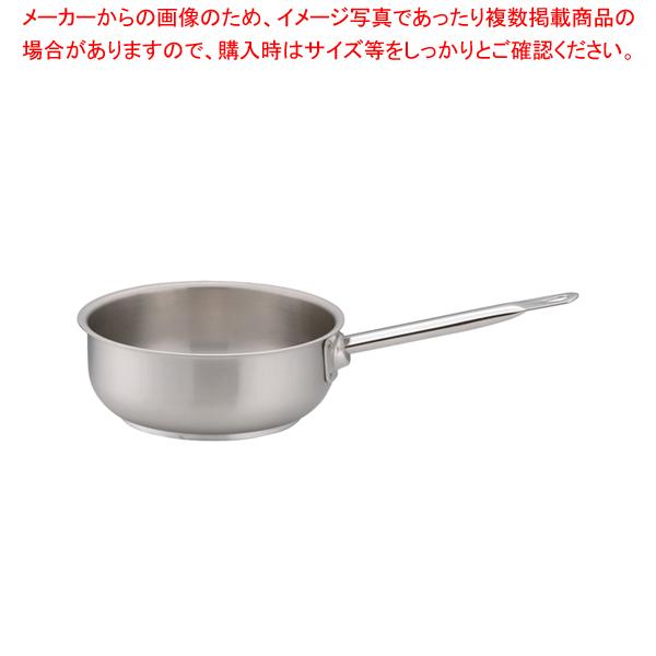 パデルノ 18-10ソテーパン(蓋無) 1113-20 【メイチョー】
