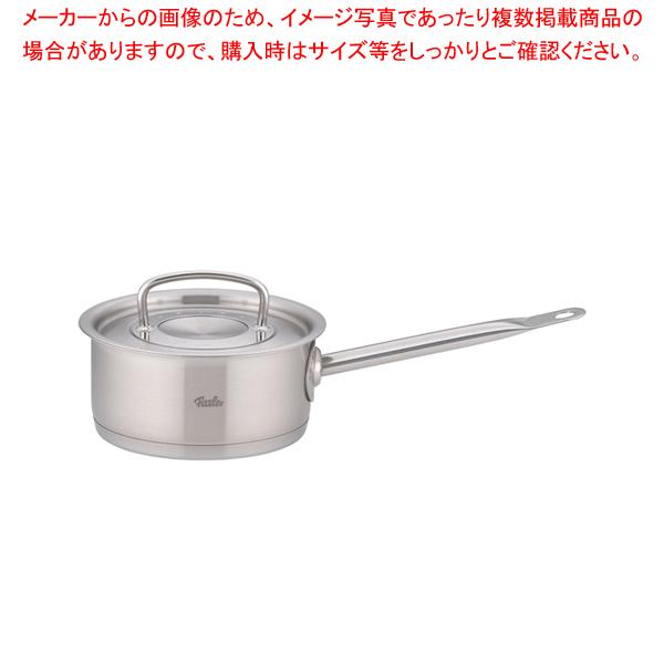 フィスラー 18-10浅型ソースパン 84-153(蓋付) 16cm 【メイチョー】