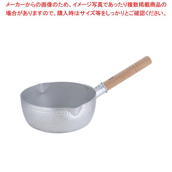 エレテック アルミ雪平鍋 24cm【 雪平鍋 IH IH対応 】 【メイチョー】