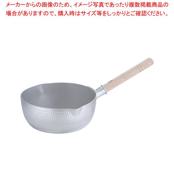 エレテック アルミ雪平鍋 27cm【 雪平鍋 IH IH対応 】 【メイチョー】