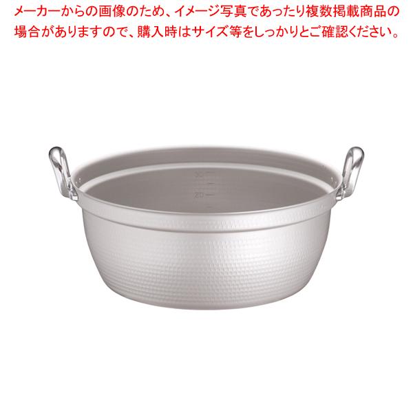 マイスター アルミ極厚円付鍋 (目盛付)54cm 【メイチョー】