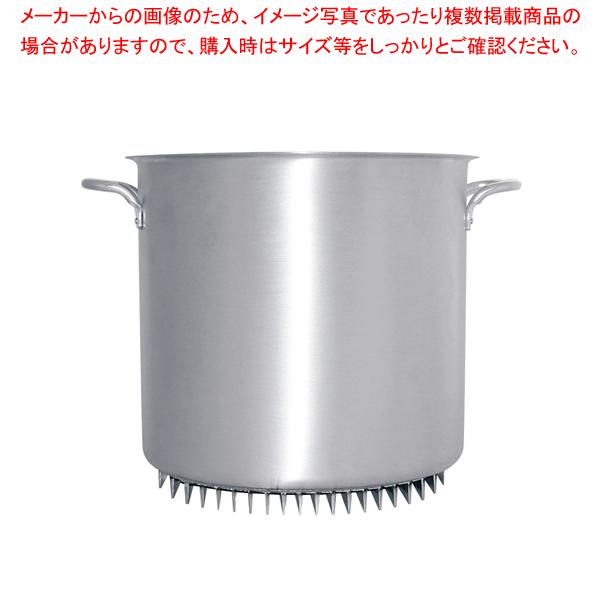 アルミ エコライン寸胴鍋(蓋無) 30cm【 寸胴鍋 】 【メイチョー】
