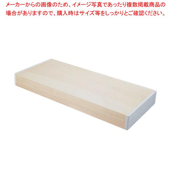 木曽桧まな板(合わせ板) 1800×450×H120mm【 メーカー直送/代引不可 】 【メイチョー】
