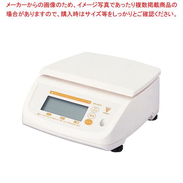 寺岡 防水型デジタル上皿はかり テンポ DS-500N 2kg【 キッチンスケール デジタル 】 【メイチョー】