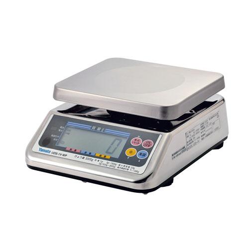 ヤマト 防水型デジタル上皿はかり UDS-1VIIWP-3 【メイチョー】