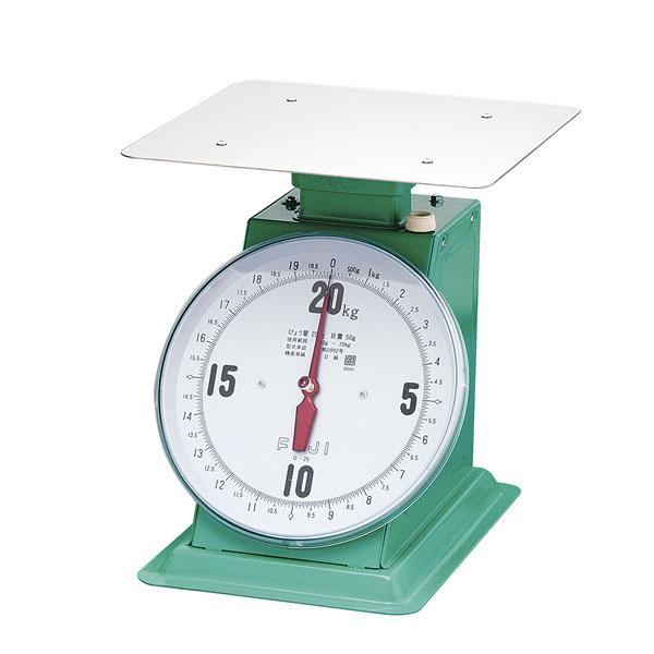 フジ 上皿自動ハカリ デカO型 20kg (平皿付)【 業務用秤 アナログ 】 【メイチョー】