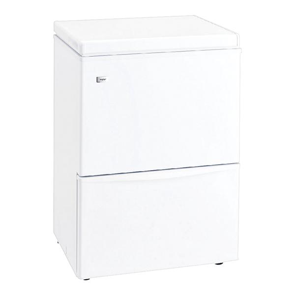 ハイアール 2ドア冷凍庫 JF-WND120A(W) 【メイチョー】