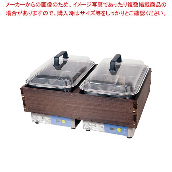 マイコンおでんウォーマー 6ッ切×2 TDO-900WR 【メイチョー】