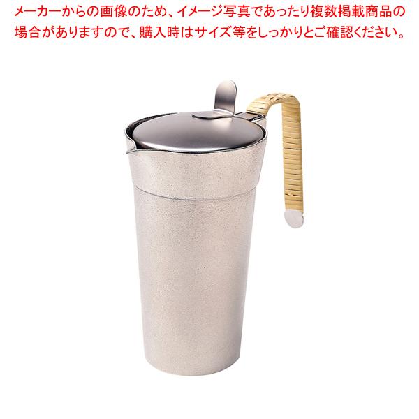 錫チロリ・匠 蓋付 2合 【メイチョー】