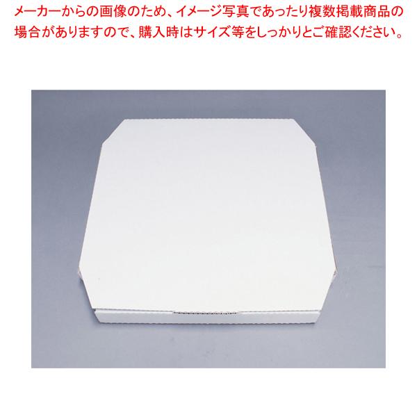ピザボックス 白(100枚入) 196888 14インチ 【メイチョー】