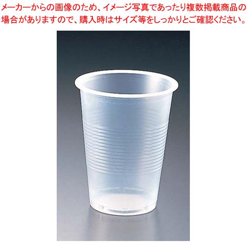 プラスチックカップ(半透明) 6オンス(3000個入)【 ストロー カップ 紙コップ関連品 】 【メイチョー】