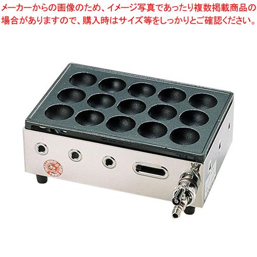 高級たこ焼器 Y-03D(15穴) 12・13A 【メイチョー】